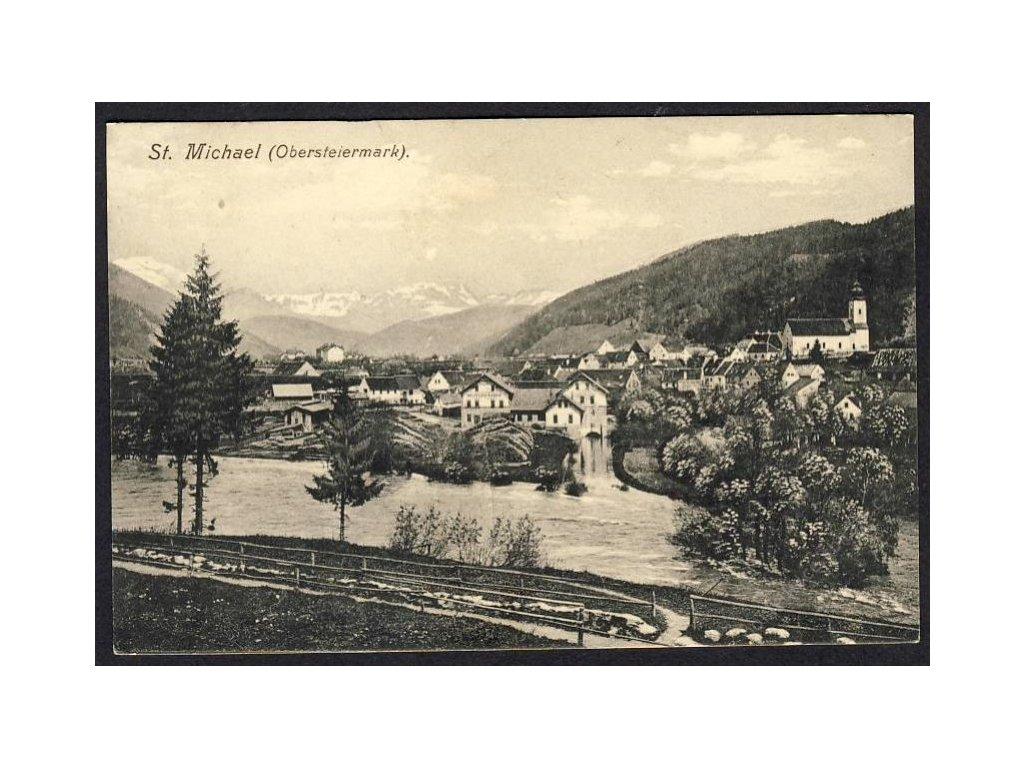 Österreich, St. Michael (Obersteiermark), cca 1910