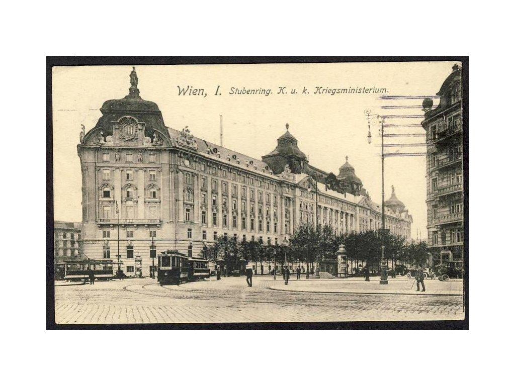 Österreich, Wien, Stubenring, K. u. k. Kriegsministerium, cca 1910