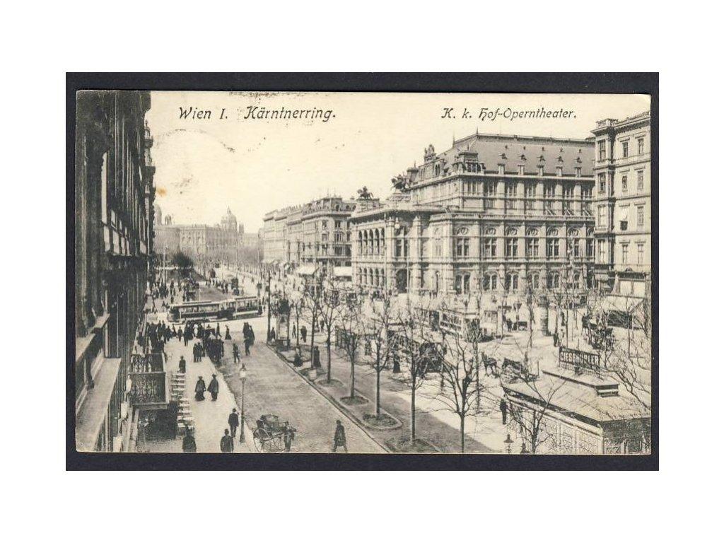 Österreich, Wien, Kärtnerring, K. k. Hof-Operntheater, cca 1922