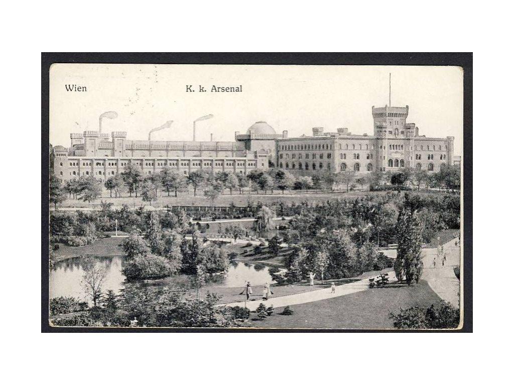 Österreich, Wien, K. k. Arsenal, cca 1915