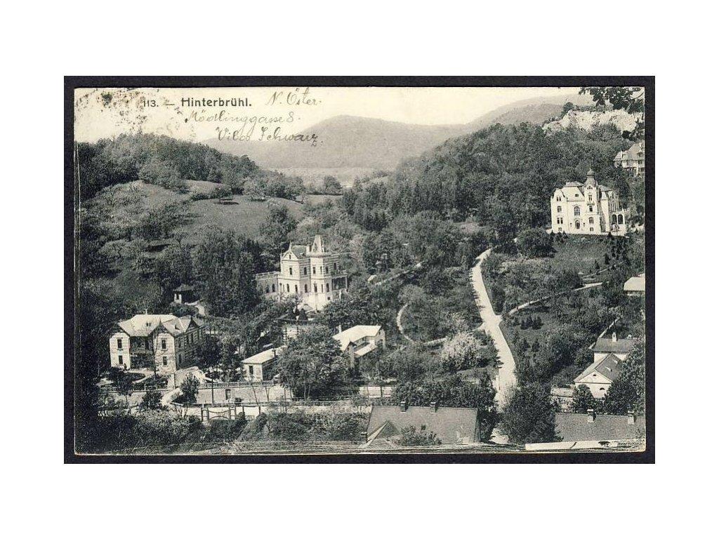 Österreich, Hinterbrühl, cca 1910