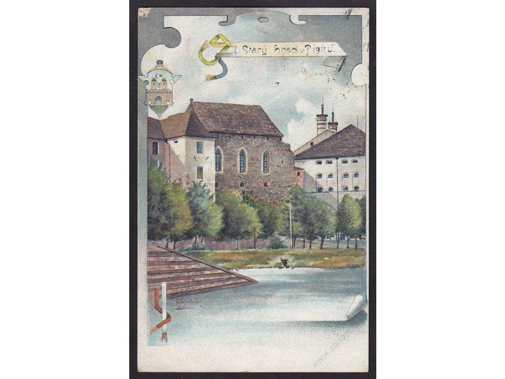 46 - Písek, Starý hrad, cca 1926