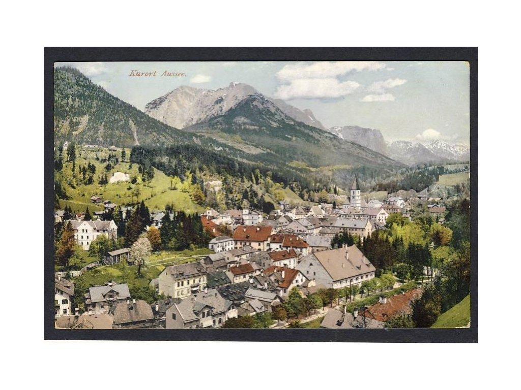 Österreich, Kurort Aussee, cca 1908