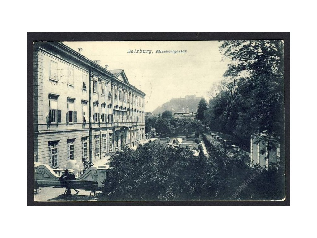 Österreich, Salzburg, Mirabellgarten, cca 1908