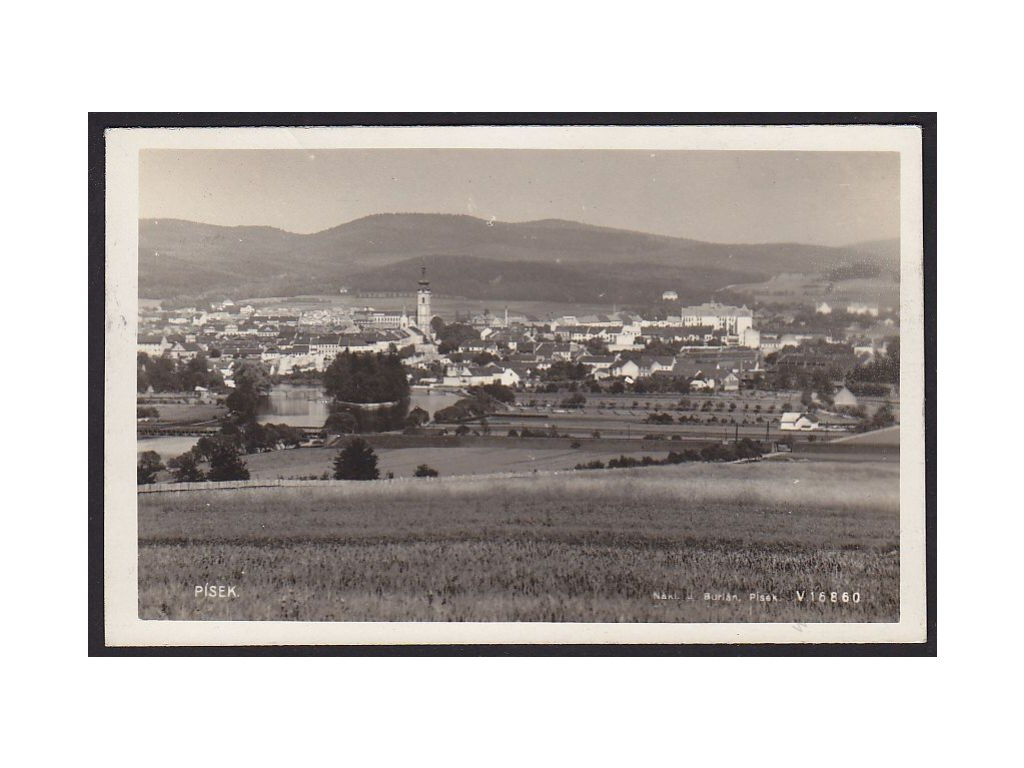 46 - Písek, foto Fon č.16860, cca 1930
