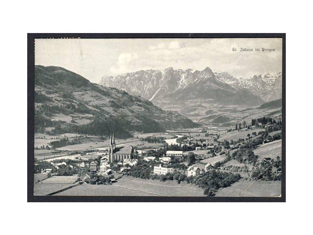 Österreich, St. Johann in Pongau, cca 1912