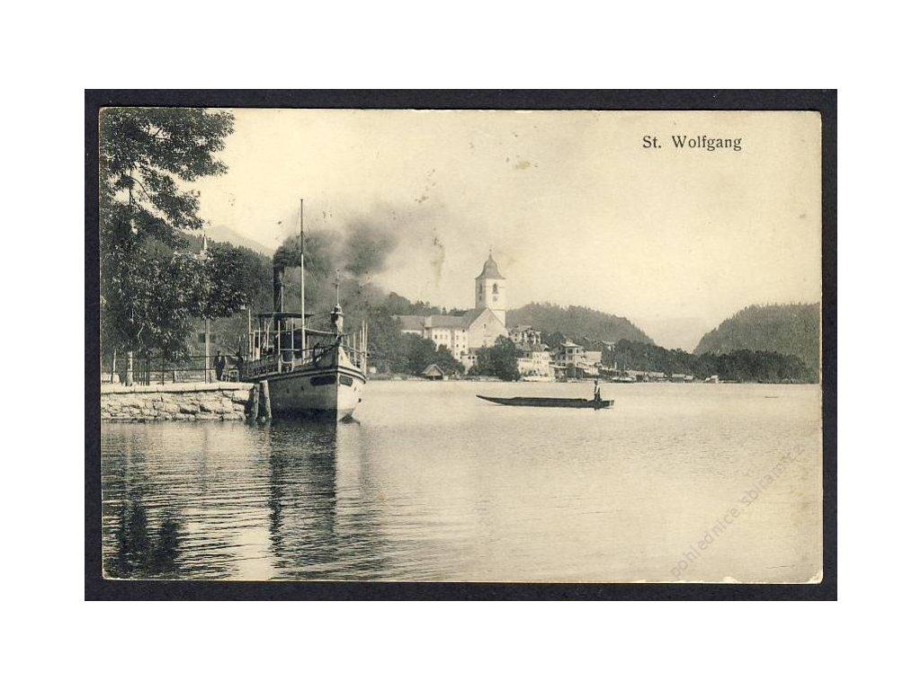 Österreich, St. Wolfgang, cca 1912