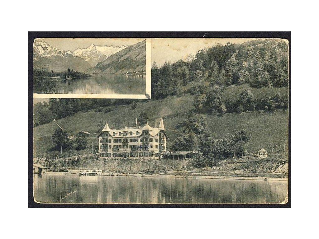 Österreich, Zell am See, Thumersbach, Hotel Bellevue, cca