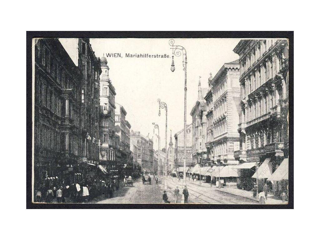 Österreich, Wien, Mariahilferstrasse, cca 1915