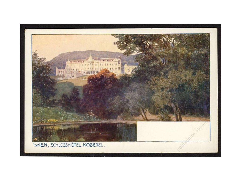 Österreich, Wien, Schlosshotel Kobenzl, cca 1920