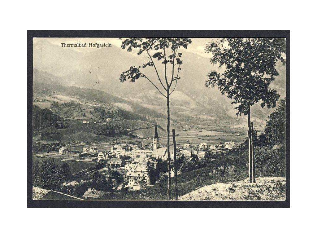 Österreich, Thermalbad Hofgastein, cca 1912
