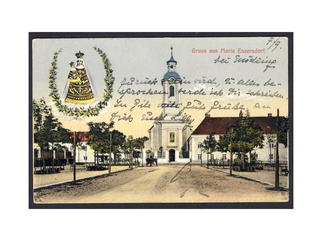 Österreich, Gruss aus Maria Enzersdorf, cca 1925