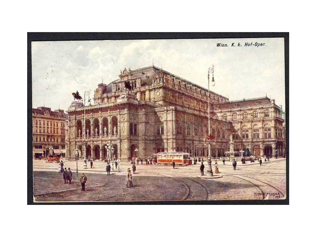 Österreich, Wien, K. k. Hof-Oper, cca 1909