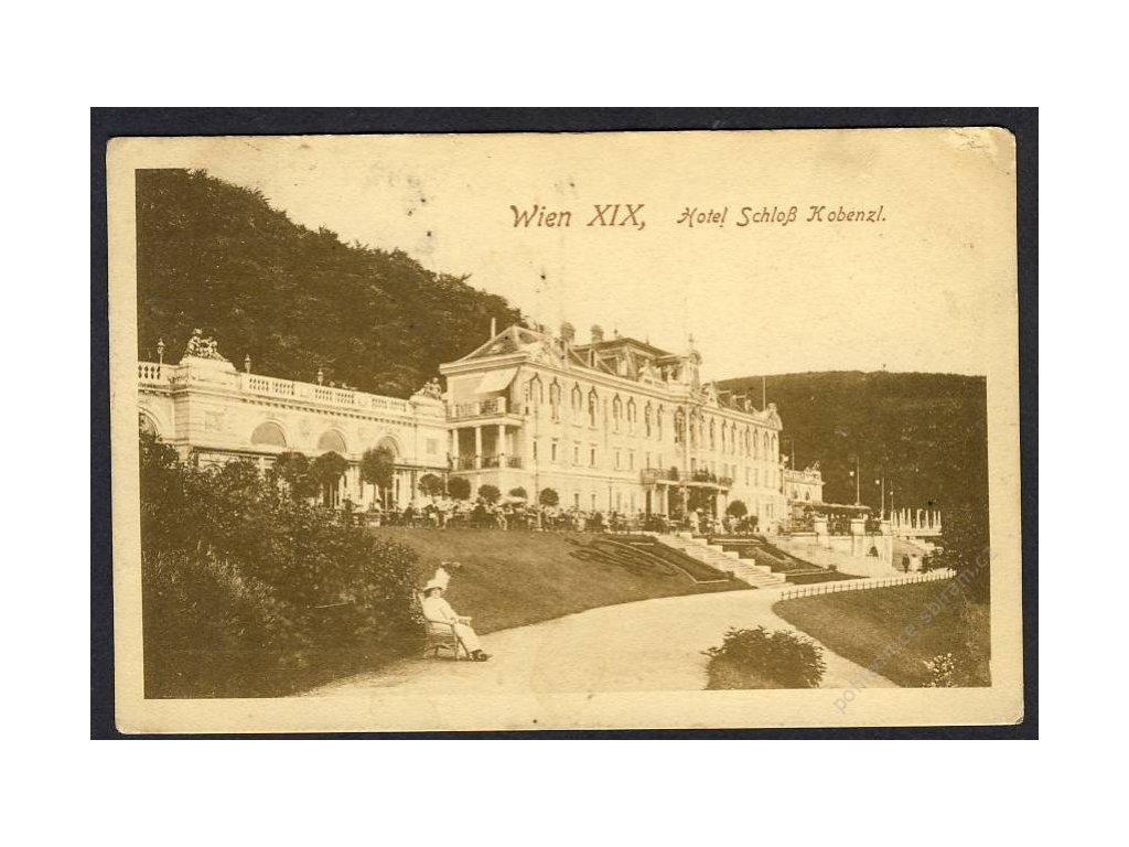 Österreich, Wien, Schlosshotel Kobenzl, cca 1916