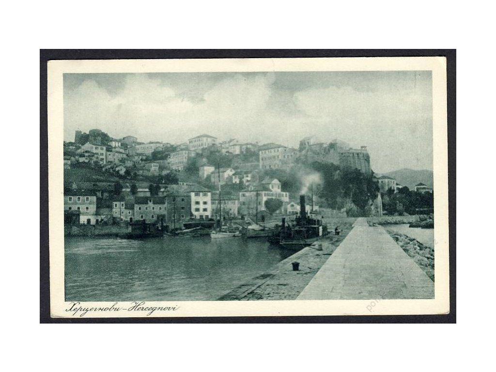 Kroatien, Hercegnovi, Teilansicht, cca 1928