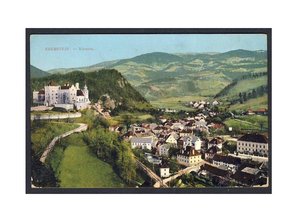 Österreich, Eberstein, Kärnten, cca 1915
