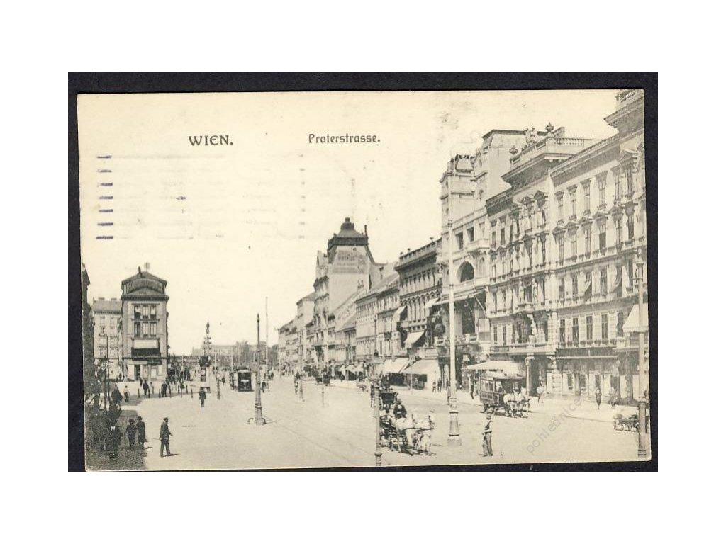 Österreich, Wien, Praterstrasse, cca 1915