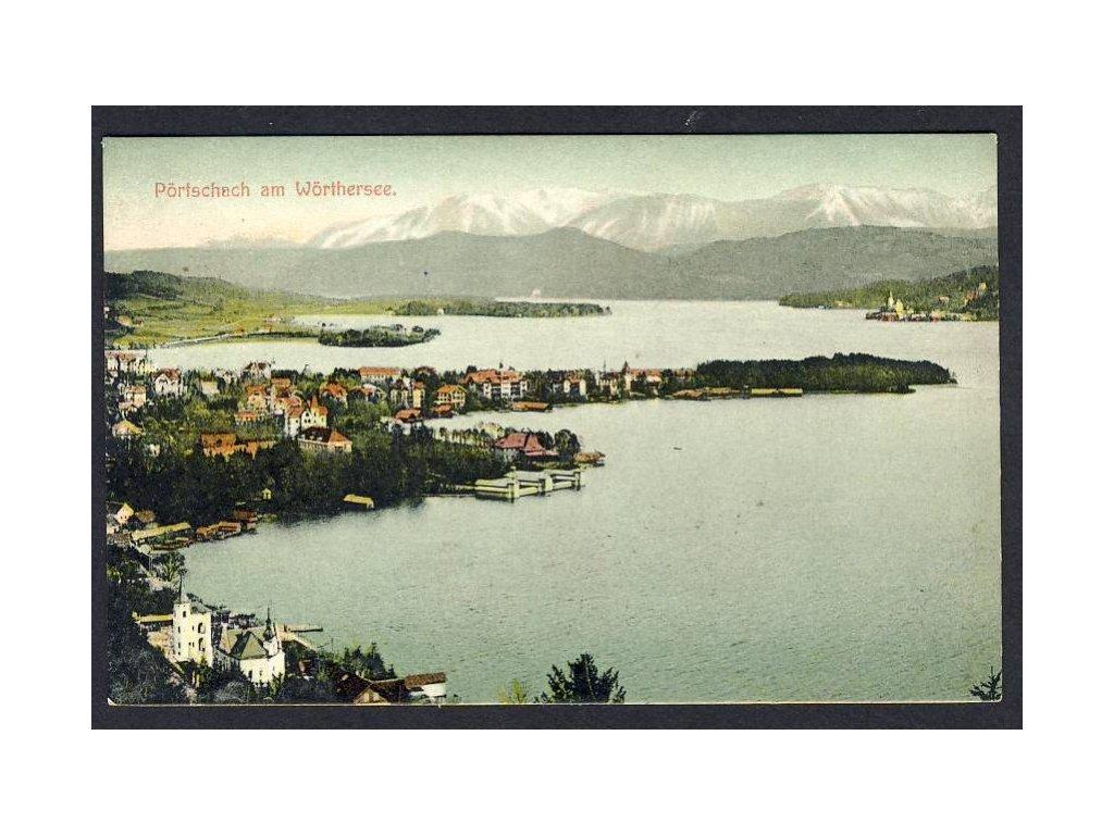 Österreich, Pörtschach am Wörthersee, cca 1908