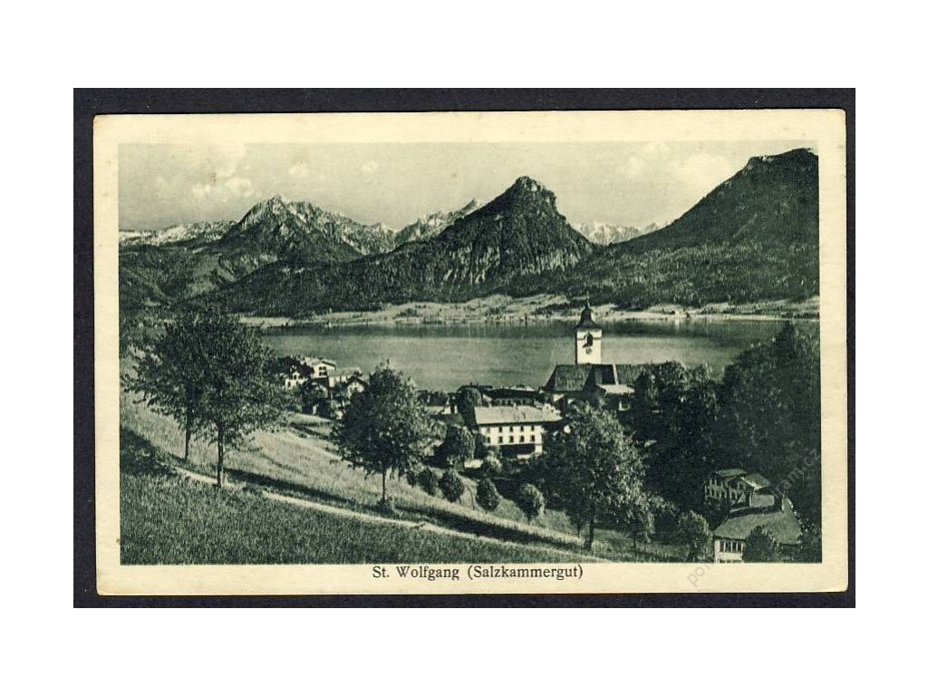 Österreich, St. Wolfgang, cca 1925