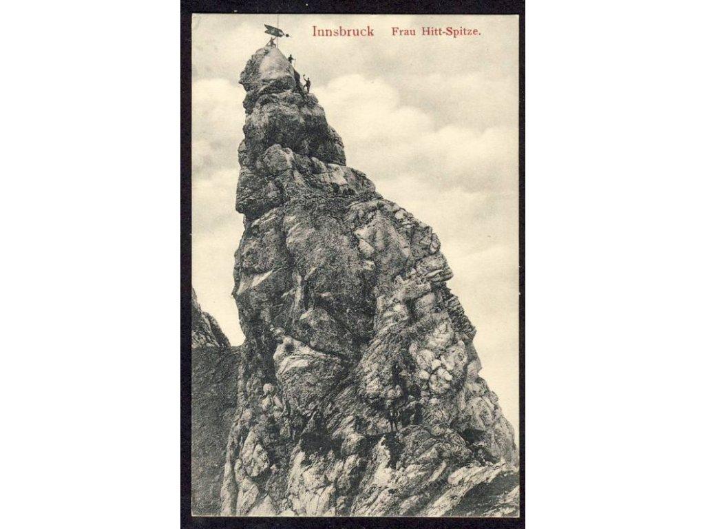Österreich, Innsbruck, Frau Hitt-Spitze, cca 1906