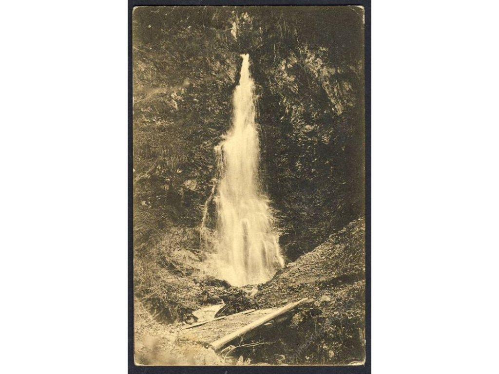 Österreich, Kitzbühel, Schleier-Wasserfall, cca 1908
