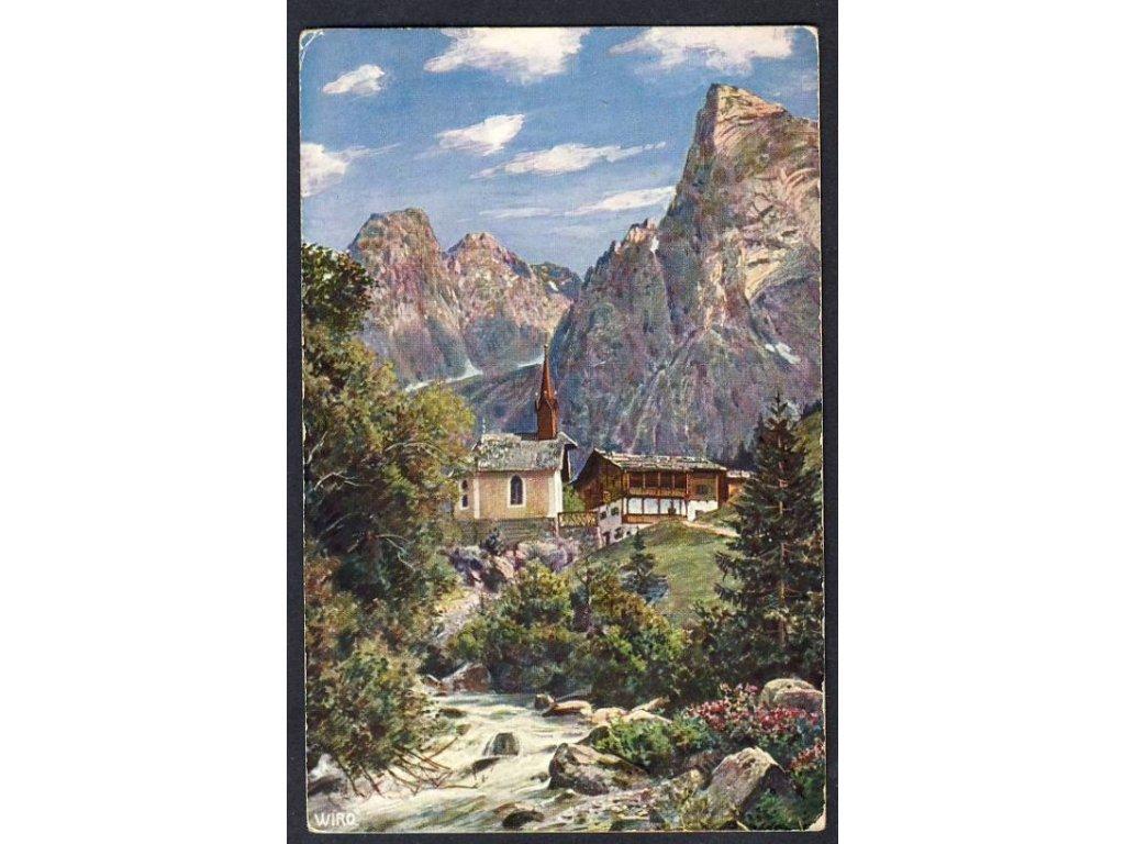 Österreich, Kaisergebirge, Hinterbärenbad, cca 1912
