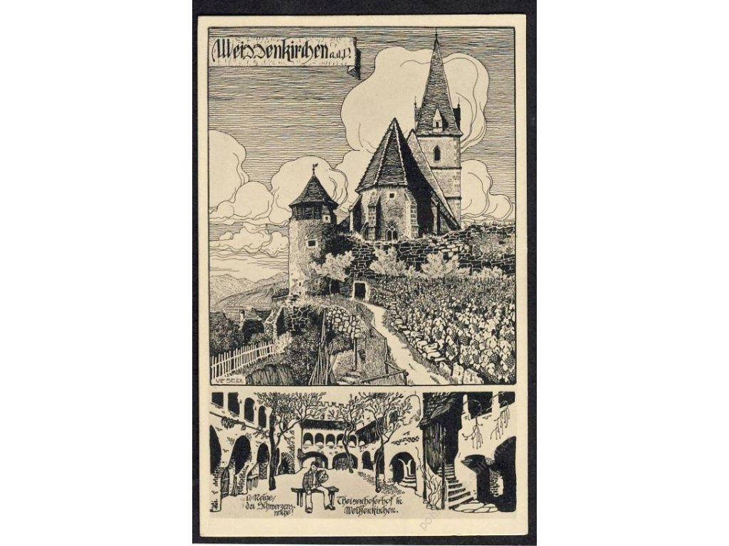 Österreich, Wiessenkirchen a. d. Donau, cca 1925