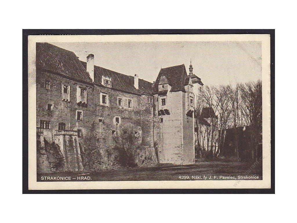 60 - Strakonicko, hrad, cca 1930
