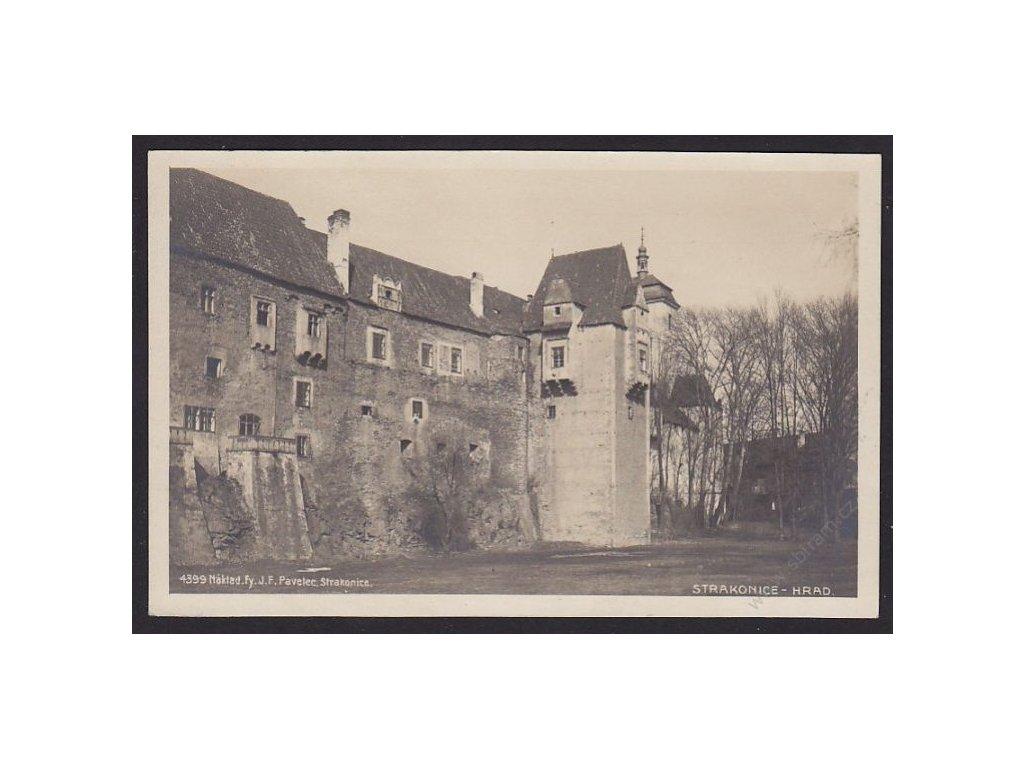 60 - Strakonice, hrad, foto Fon č.4399