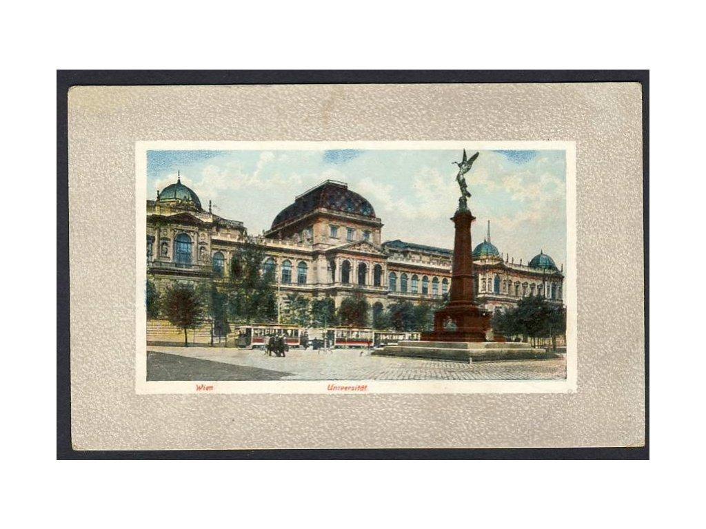 Österreich, Wien, Universität, cca 1914