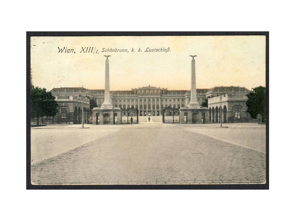 Österreich, Wien, Schönbrunn, k. k. Lustschloss, cca 1915