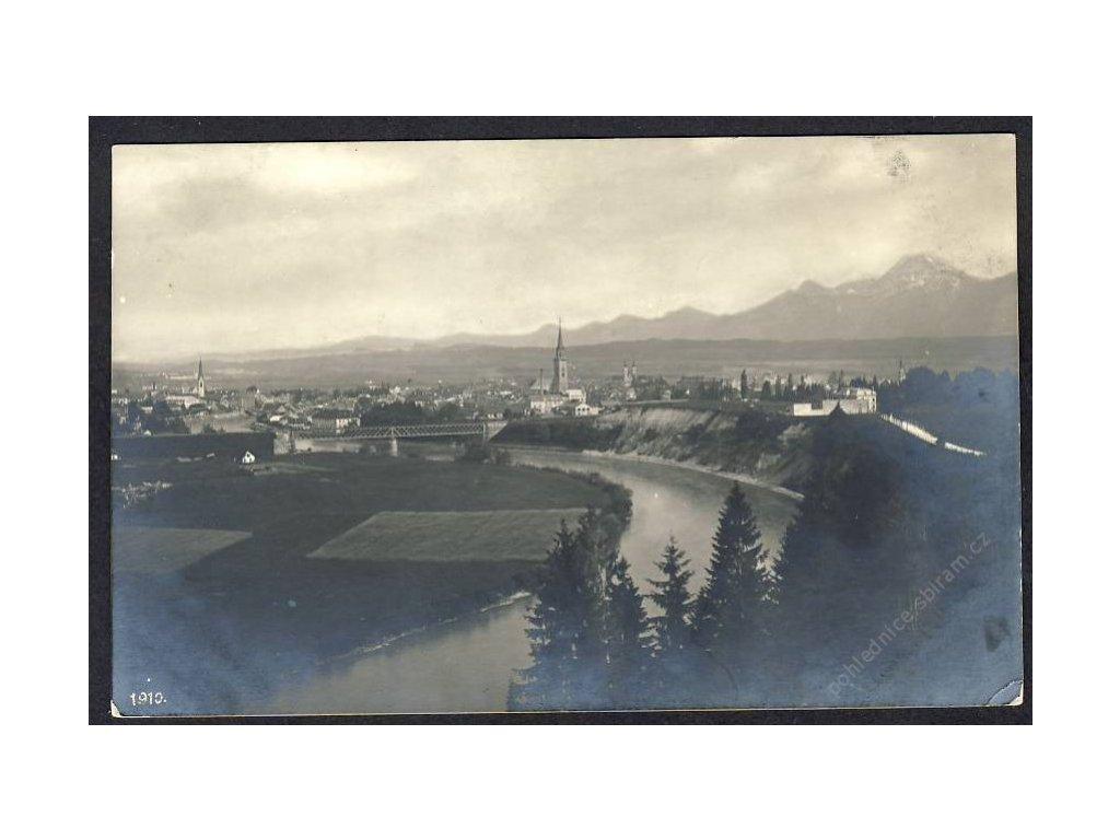 Österreich, Villach, Totalansicht, cca 1907
