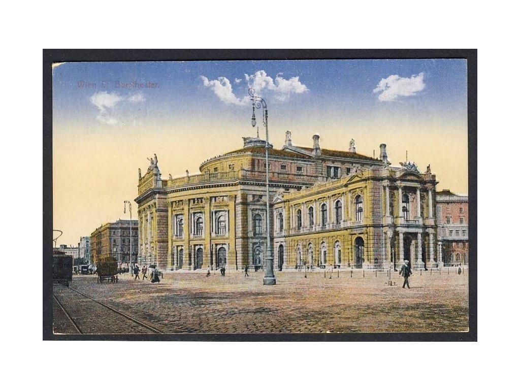 Österreich, Wien, Burgtheater, cca 1915