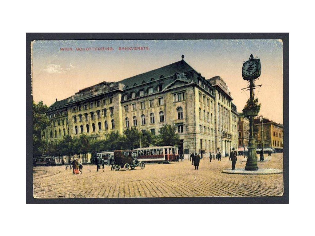 Österreich, Wien, Schottenring, Bankverein, cca 1912