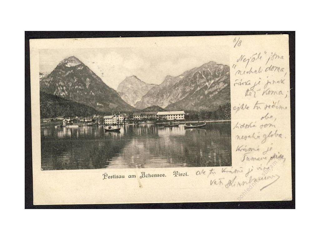 Österreich, Tirol, Pension am Achensee, cca 1910