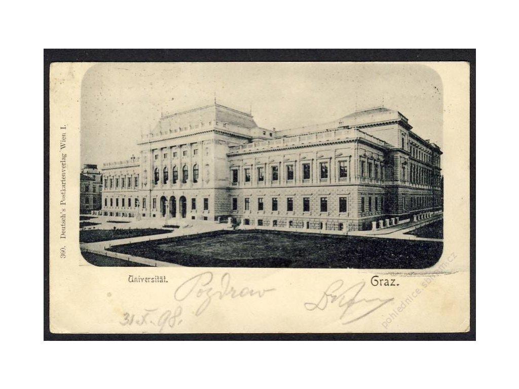Österreich, Graz, Universität, cca 1899