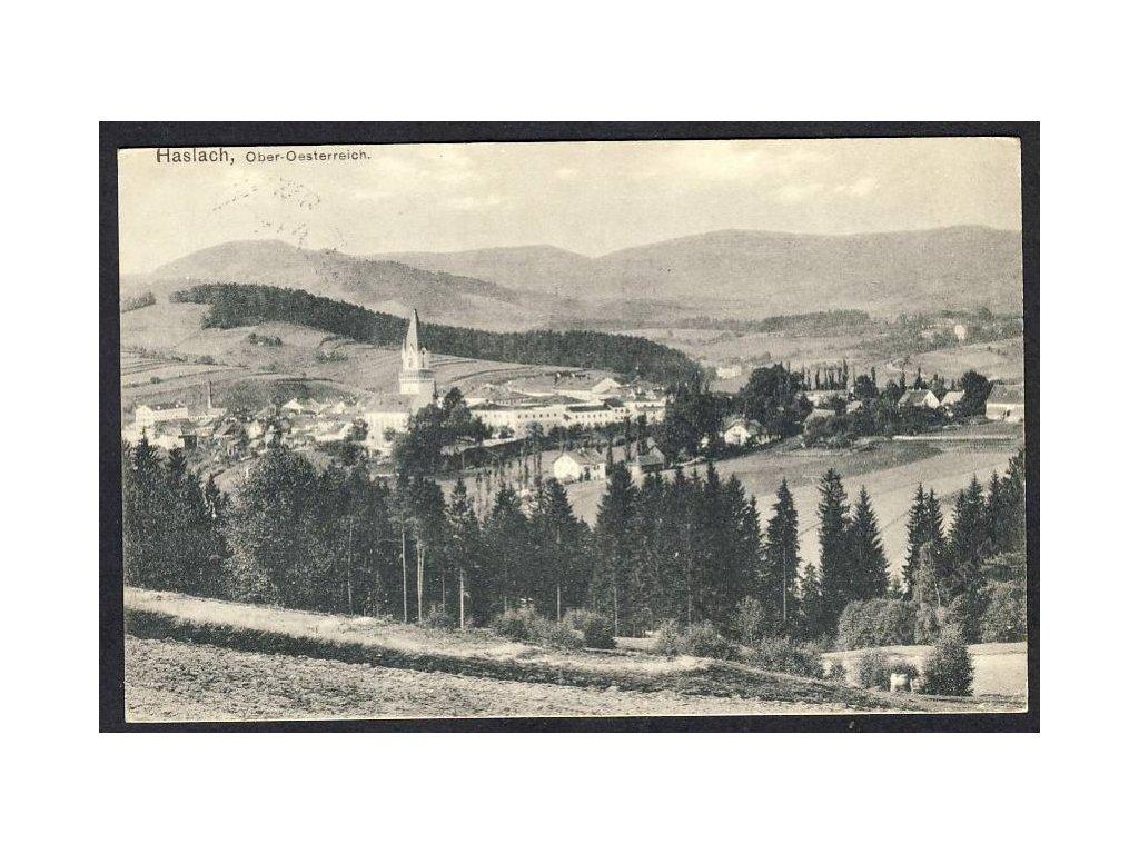 Österreich, Haslach, O.-Oe., cca 1918