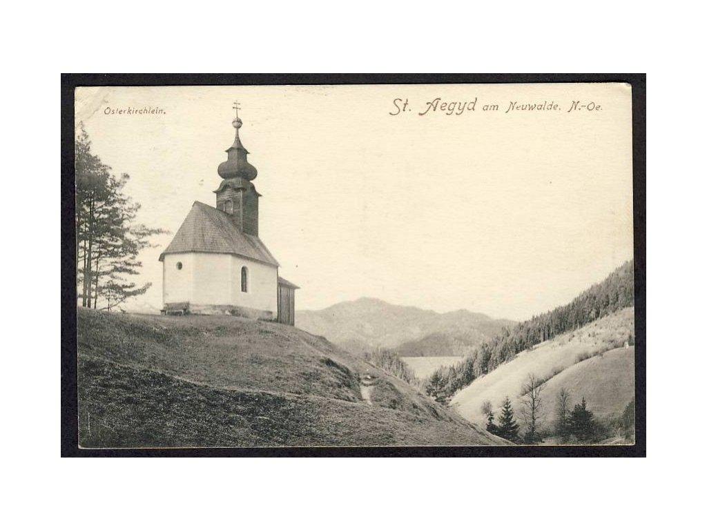 Österreich, St. Aegyd am Neuwalde, N.-Oe., Osterkichlein, cca 1912