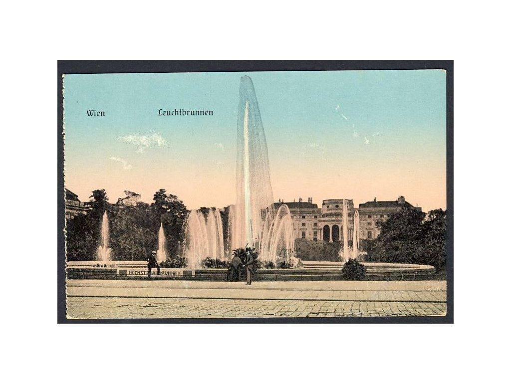 Österreich, Wien, Leuchtbrunnen, cca 1910