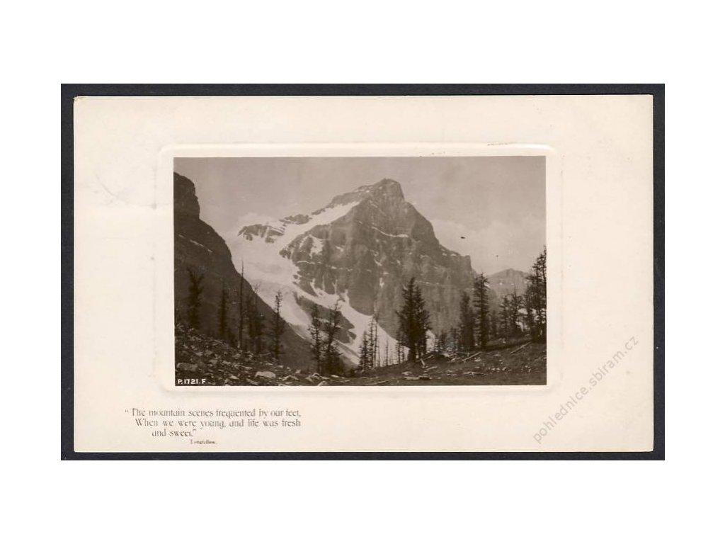 Österreich, Alpenpartie, cca 1910