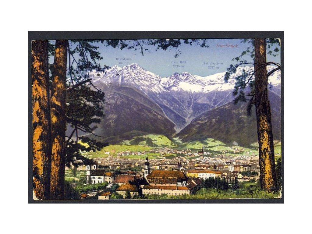 Österreich, Innsbruc, Totalansicht, cca 1913