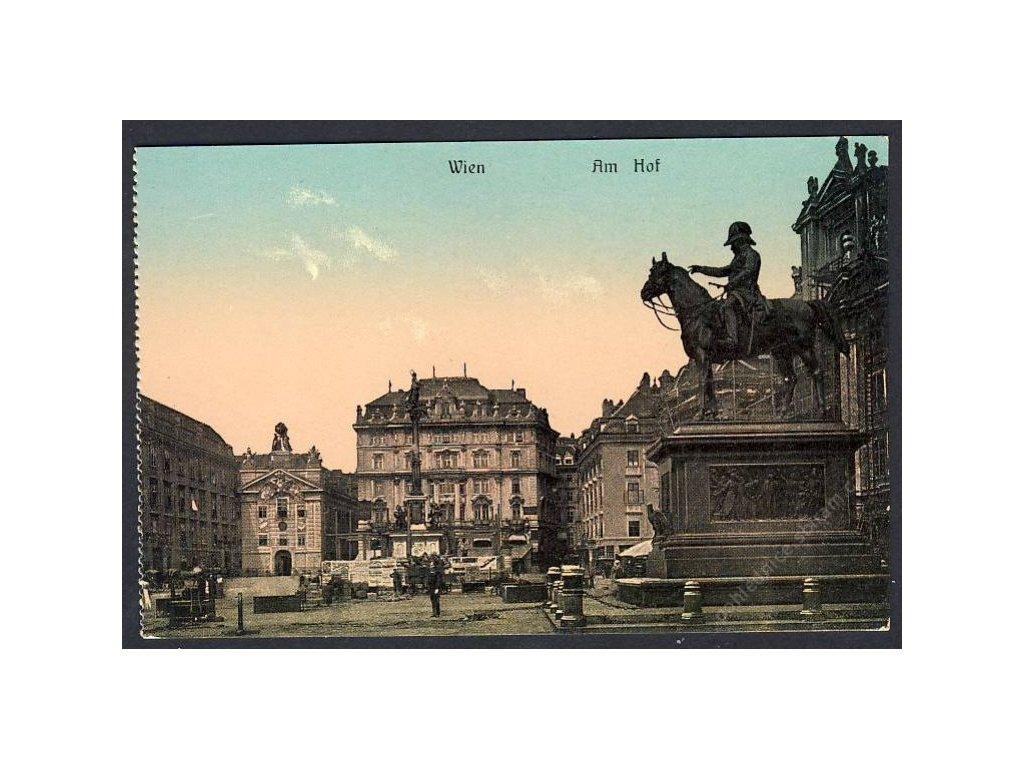 Österreich, Wien, Am Hof, cca 1909