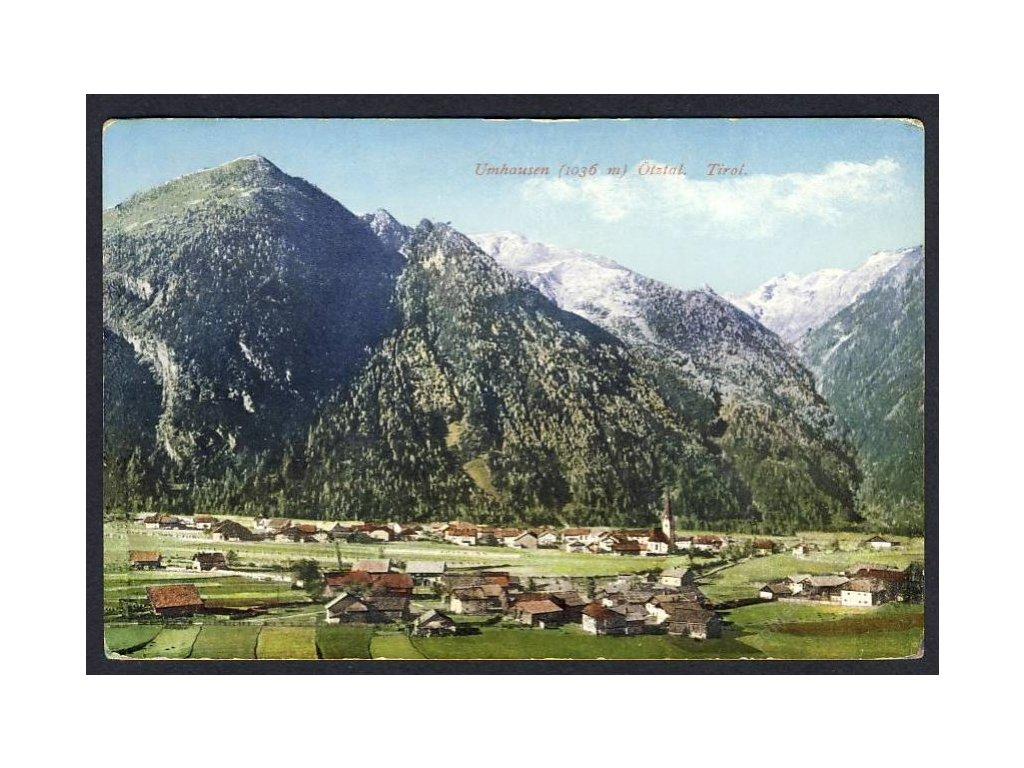 Österreich, Umhausen, Ötztal, Tirol, cca 1917