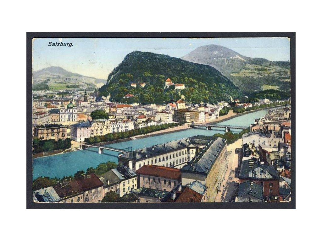 Österreich, Salzburg, Teilansicht, cca 1915