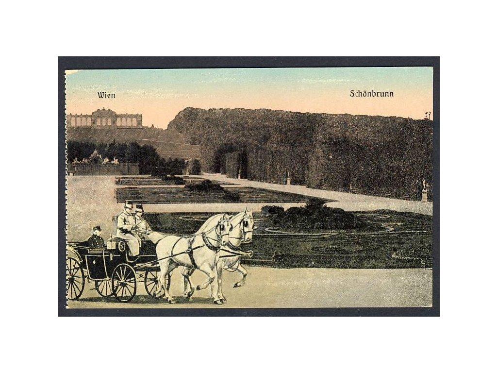 Österreich, Wien, Schönbrunn, cca 1903