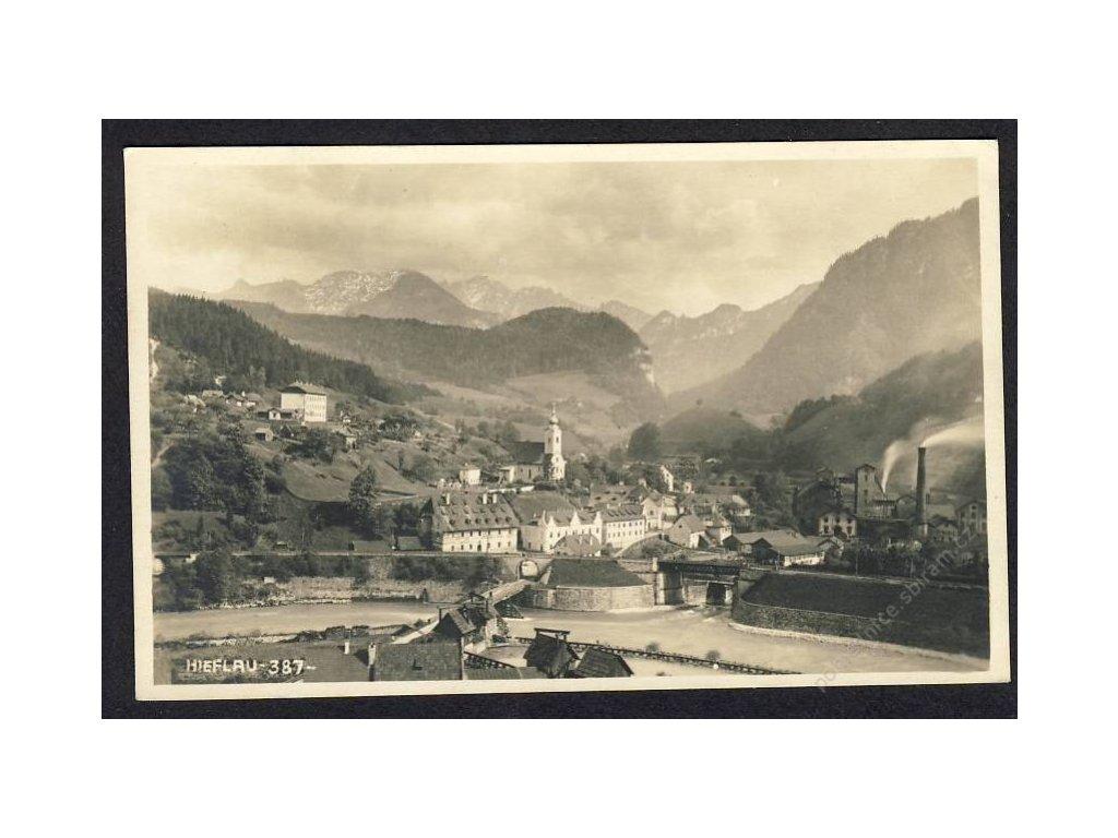 Österreich, Hieflau, Totalansicht, cca 1920