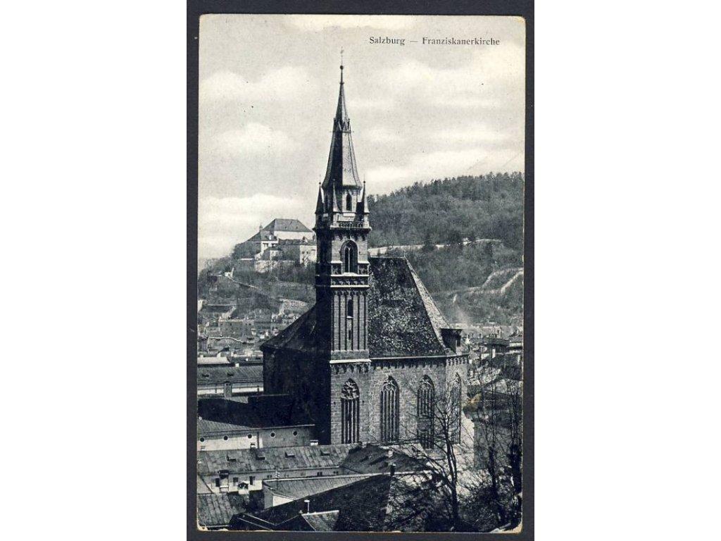 Österreich, Salzburg, Franziskanerkirche, cca 1915