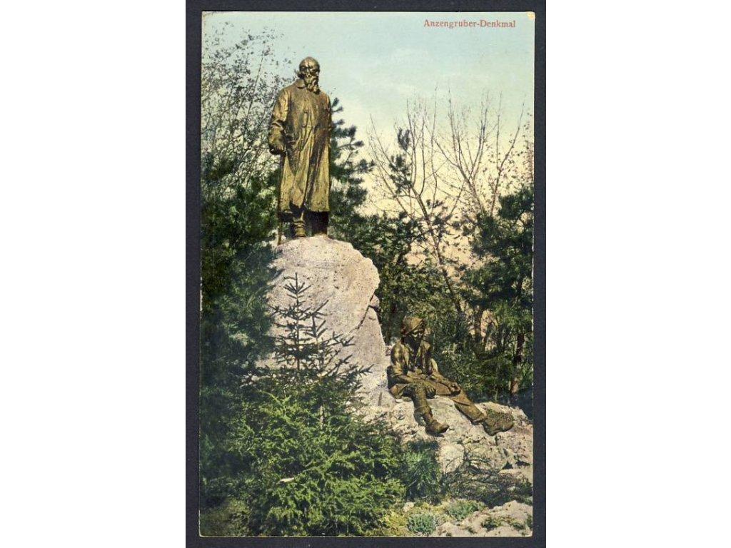 Österreich, Anzengruber-Denkmal, cca 1912