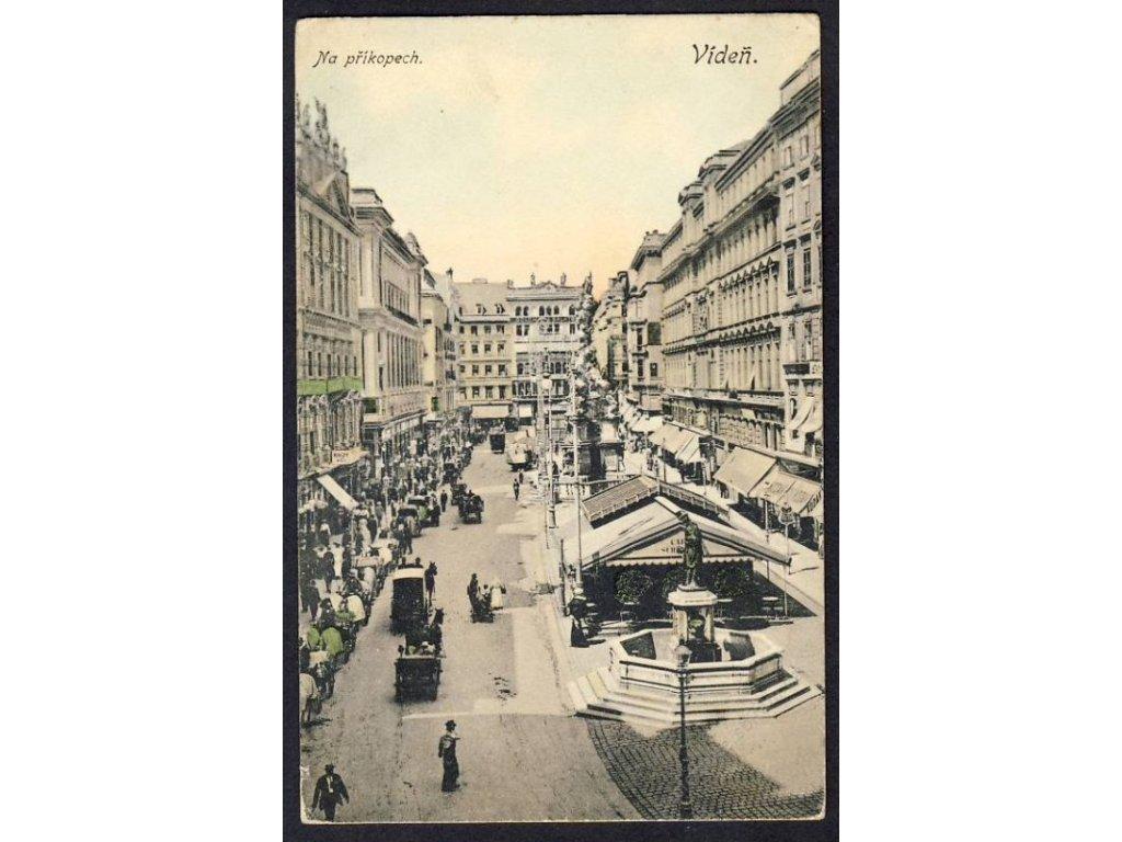 Österreich, Wien, Am Graben, cca 1910