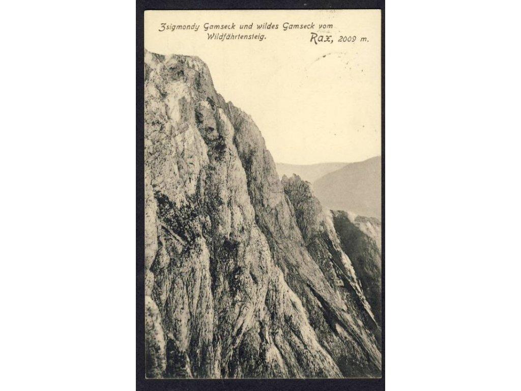 Österreich, Rax, cca 1913